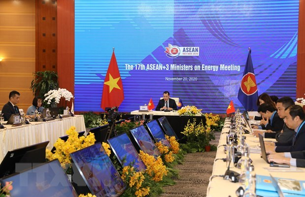 ASEAN+3 energy ministers pledge to push sustainable post-pandemic recovery hinh anh 1