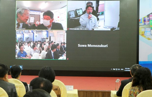 Vietnamese, Japanese firms promote technology transfer hinh anh 1