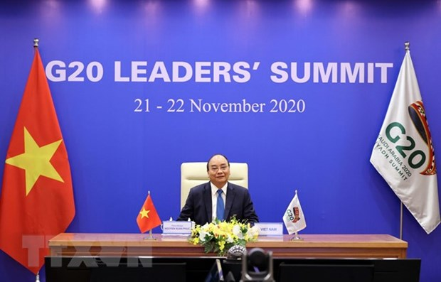 Prime Minister addresses virtual G20 Leaders' Summit hinh anh 1