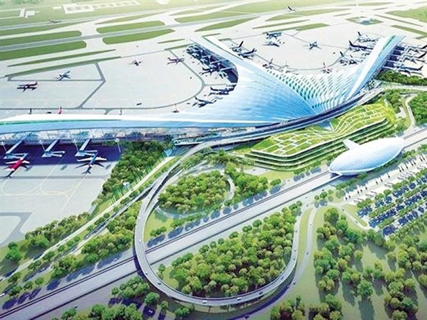 Work on Long Thanh international airport to start next month hinh anh 1