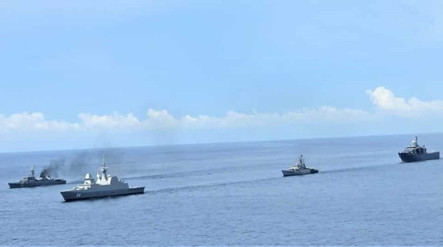 India, Singapore, Thailand kick off trilateral maritime drill hinh anh 1
