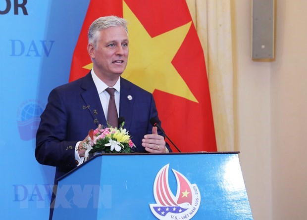 US wants to promote comprehensive partnership with Vietnam: US security advisor hinh anh 1