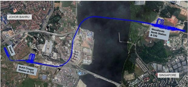 Malaysia begins construction of Singapore-Johor RTS Link hinh anh 1