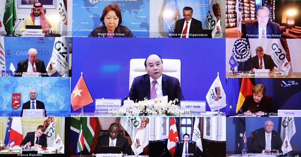 PM Phuc: Efforts needed to build sustainable, inclusive, resilient future hinh anh 1