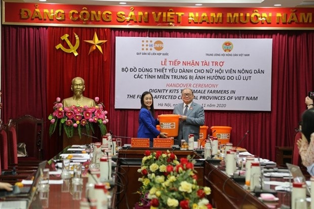 UNFPA offers support to women in central region hinh anh 1