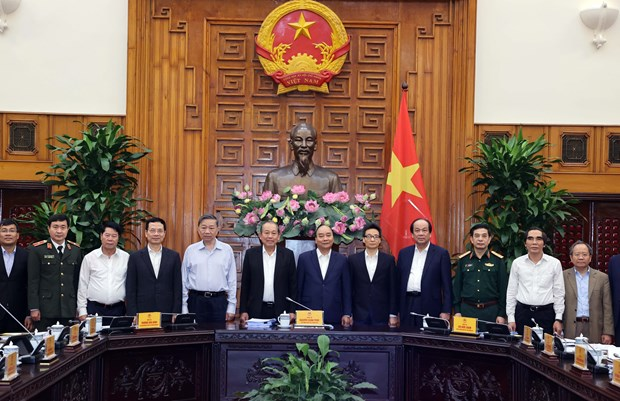 PM chairs first meeting of national steering committee for cyber security hinh anh 1