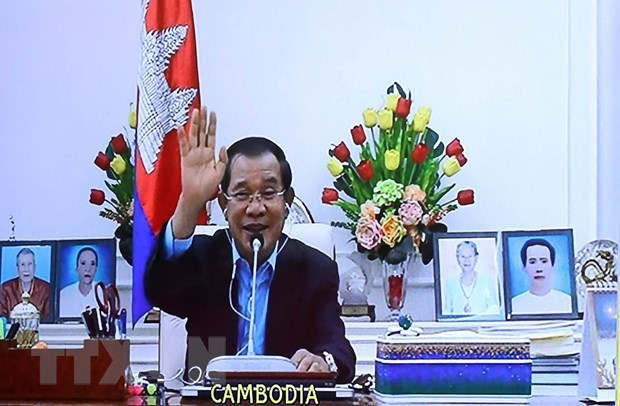 Cambodia congratulates Vietnam on successful holding of 37th ASEAN Summit hinh anh 1