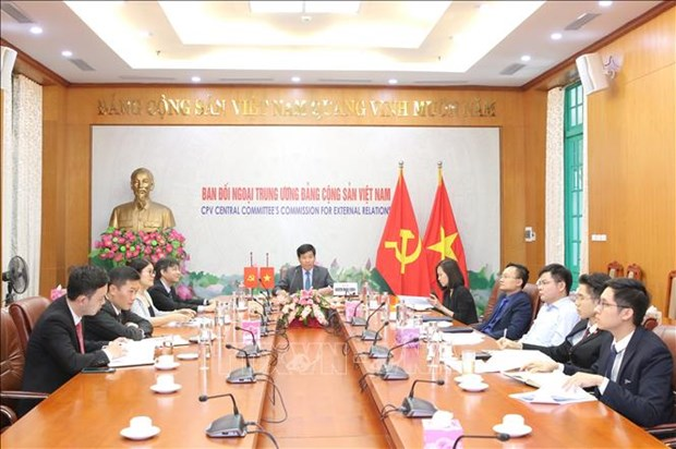 Vietnam attends 34th meeting of Asian political parties hinh anh 1