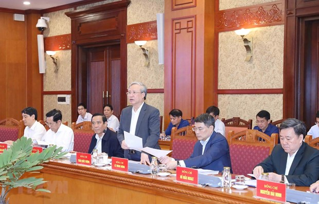 Sub-committee for organisation of 13th National Party Congress sits for fifth meeting hinh anh 1