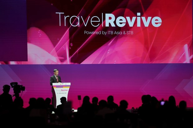 International travel tradeshow opens in Singapore hinh anh 1