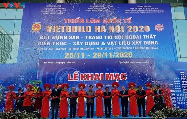Vietbuild Hanoi International Exhibition 2020 opens hinh anh 1