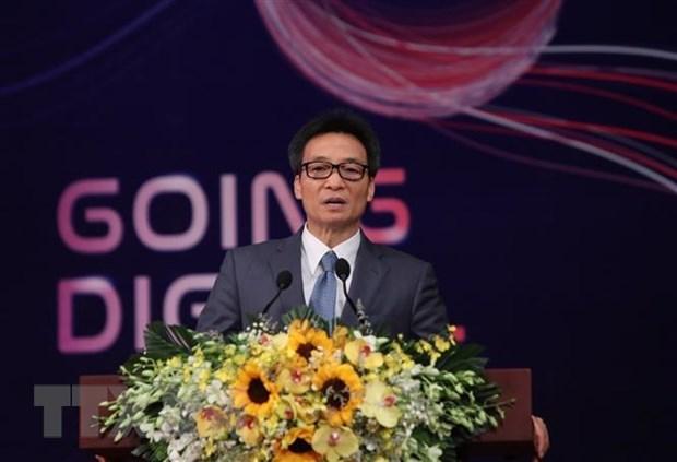 Digitalisation to give motivation for enterprises' development: Deputy PM hinh anh 1
