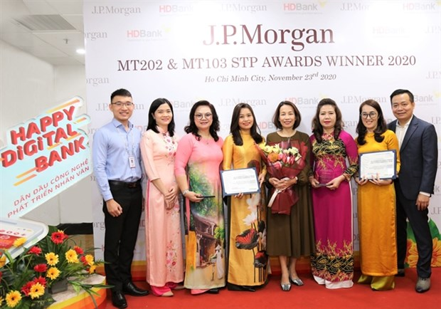 HDBank wins award for outstanding international payment service hinh anh 1