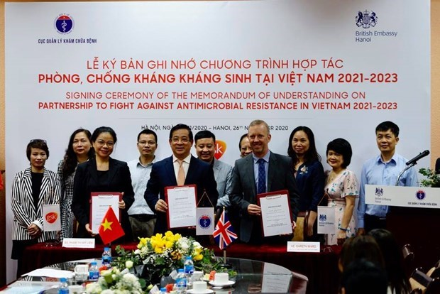 UK to help Vietnam fight against antimicrobial resistance hinh anh 1