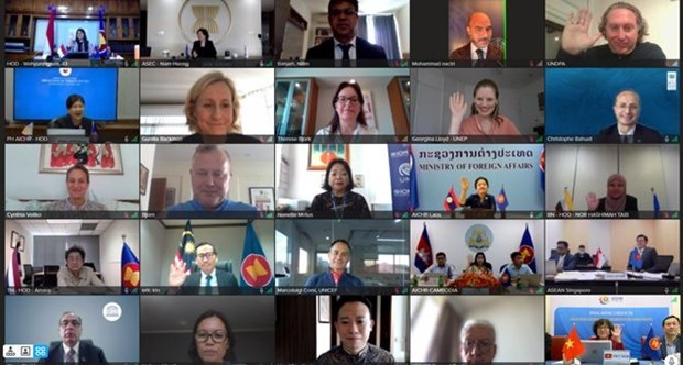 AICHR convenes second Special Meeting this year hinh anh 1