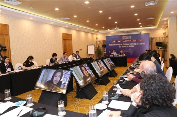 Conference seeks to prevent school and online bullying in ASEAN hinh anh 1
