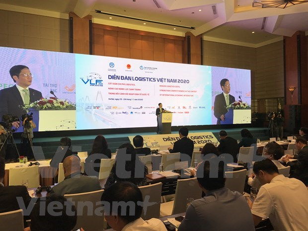 Forum seeks to boost domestic logistics growth hinh anh 1