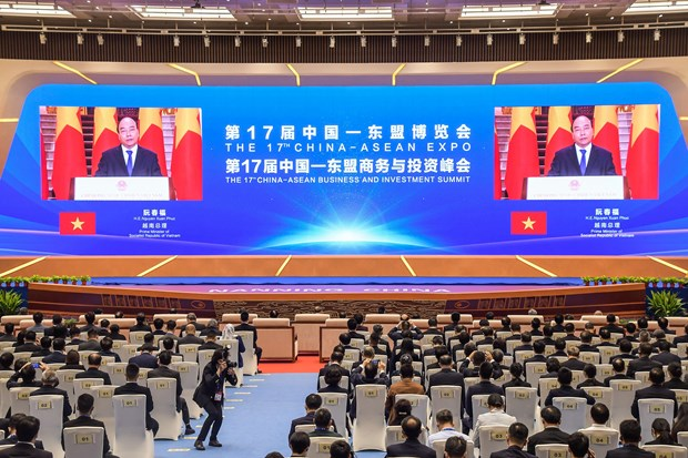 Vietnam attends 17th China – ASEAN Expo hinh anh 1