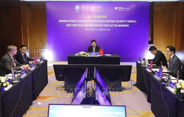 UN Security Council's E10 – I5 Dialogue wraps up hinh anh 1
