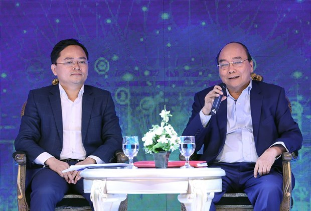 PM Phuc: creating best environment for innovative startups hinh anh 1