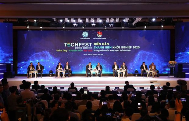 Techfest Vietnam 2020 opens hinh anh 1