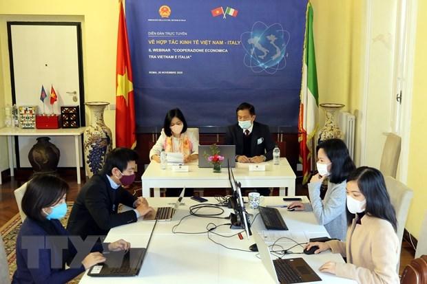 Vietnam, Italy seek ways to bolster economic ties hinh anh 1