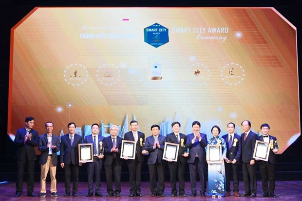 Digital technology contributes to smart city development hinh anh 1