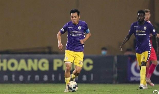 Striker Nguyen Van Quyet dreams of Golden Ball award hinh anh 1