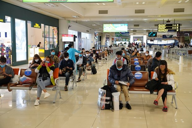 Noi Bai airport secures Airport Health Accreditation certificate hinh anh 1