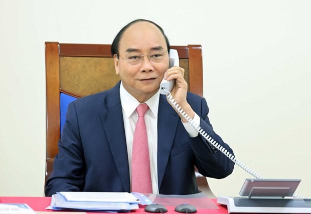 Vietnamese, Nederlandse PM's houden telefoongesprekken hinh anh 1