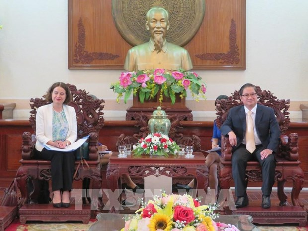 Can Tho, Australia enhance partnership in education, infrastructure hinh anh 1