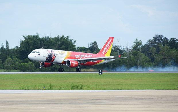 Thai Vietjet commences latest service to Chiang Mai hinh anh 1