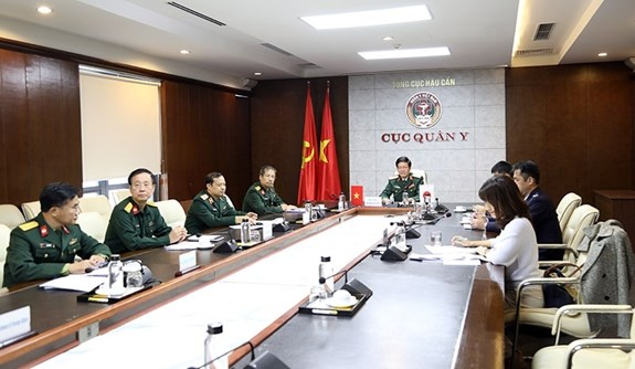 Vietnam, Japan reinforce cooperation in military medicine hinh anh 1