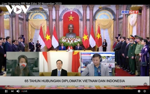 National radios help nurture Vietnam-Indonesia friendship hinh anh 1