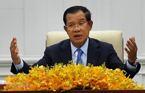 Cambodian PM appreciates Vietnam's support in struggle for national liberation hinh anh 1