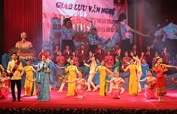 Grand ceremony in Hanoi celebrates Laos' 45th National Day hinh anh 2