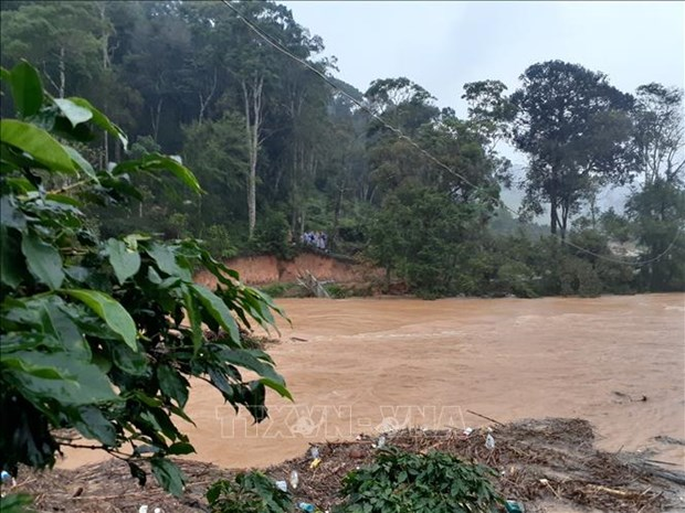 Four killed, two missing as flash floods hit Central Highlands, South Central regions hinh anh 1