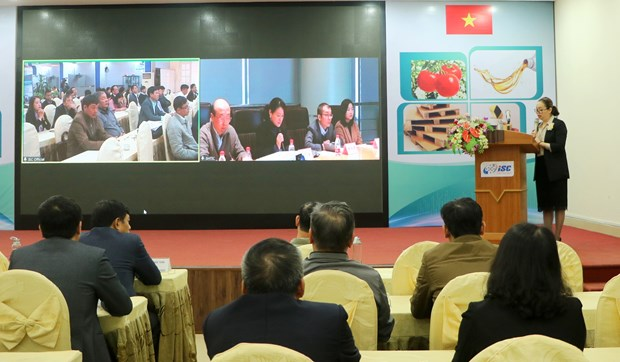 Vietnamese, Chinese firms meet online to discuss supply, demand of technologies hinh anh 1