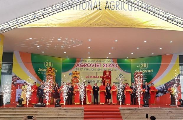 AgroViet 2020 underway in Hanoi hinh anh 1