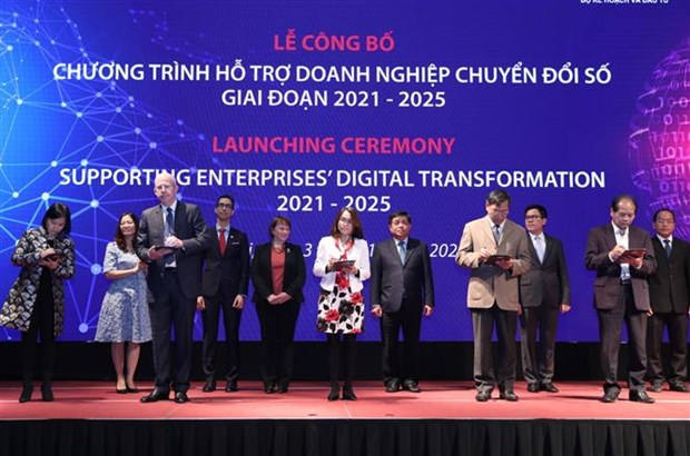 New programme to support enterprises' digital transformation over next 5 years hinh anh 1