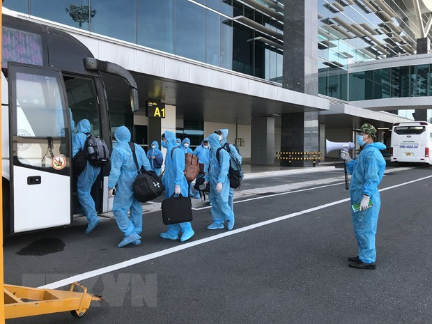 Vietnam Airlines officials suspended from work for loose quarantine management hinh anh 1