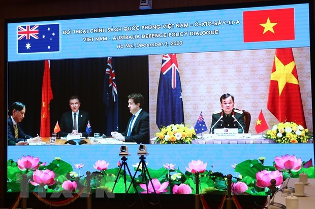 Vietnam, Australia convene fourth defence policy dialogue hinh anh 1