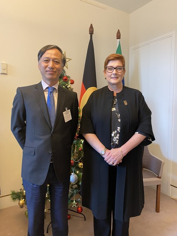 Australian foreign minister hopes for stronger ties with Vietnam hinh anh 1