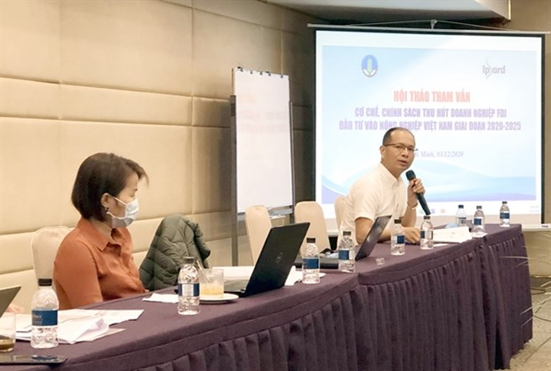 Clear policies needed to attract foreign investment in agricultural sector hinh anh 1