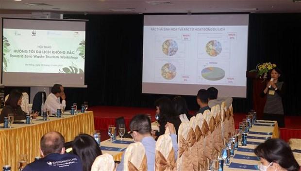 Da Nang workshop looks toward waste-free tourism hinh anh 1