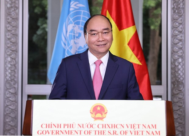 Strong cooperation to help international community defeat COVID-19: PM Phuc hinh anh 1