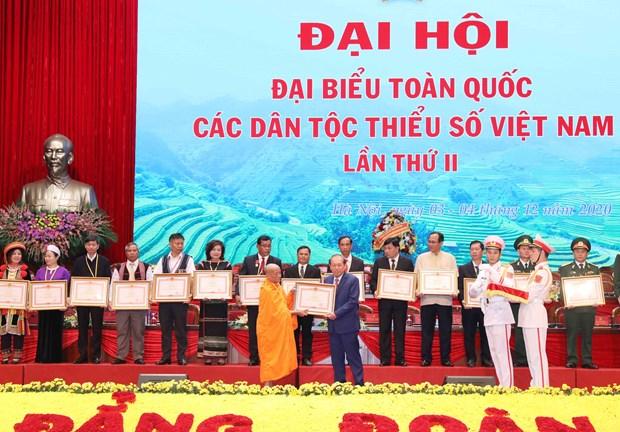 Second national congress of Vietnam's ethnic minorities wraps up hinh anh 1
