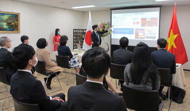 Japanese firms provide aid for over 1,060 pandemic-hit Vietnamese students hinh anh 1