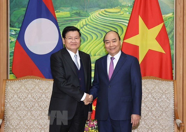 Vietnam-Laos Inter-Governmental Committee holds 43rd meeting hinh anh 1