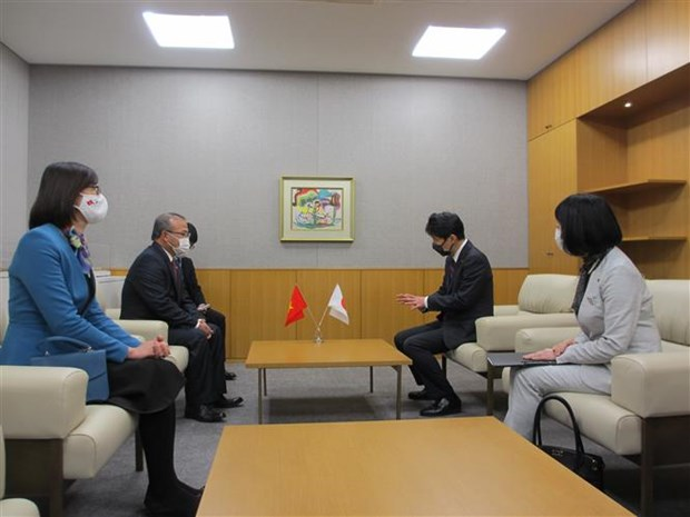 Japanese locality leader lauds Vietnam's success in COVID-19 control hinh anh 1